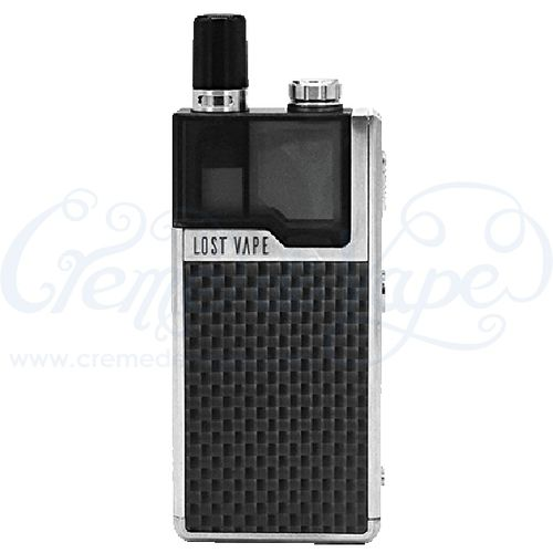 Lost Vape Orion DNA Go Pod Kit - Silver/Carbon Black