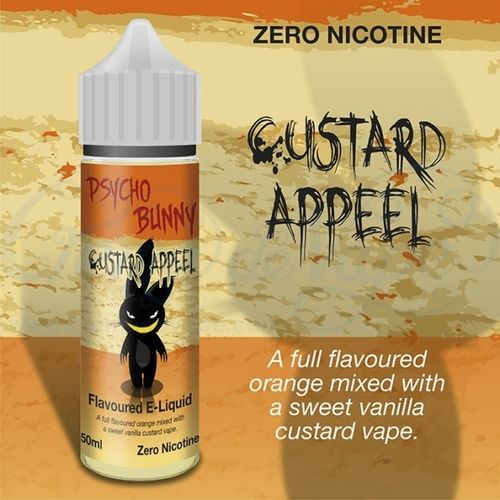 Custard Appeel by Psycho Bunny - 50ml Shortfill