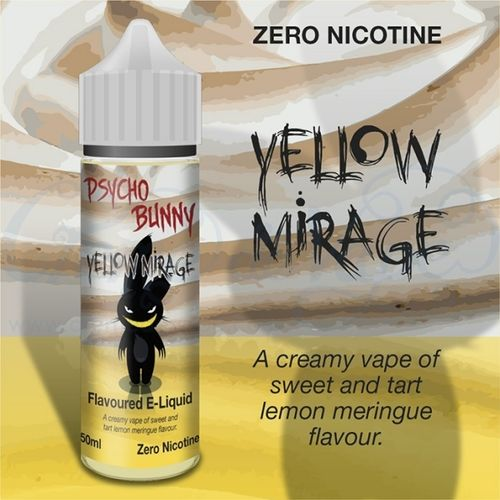 Yellow Mirage by Psycho Bunny - 50ml Shortfill