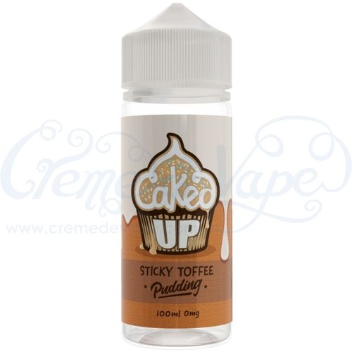 Sticky Toffee Pudding by Caked Up - 100ml Shortfill