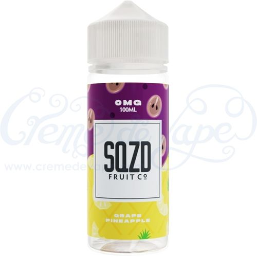Grape Pineapple by SQZD - 100ml Shortfill