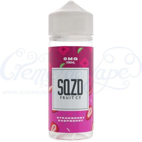 Strawberry Raspberry by SQZD - 100ml Shortfill