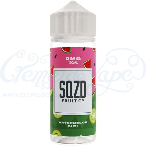 Watermelon Kiwi by SQZD - 100ml Shortfill