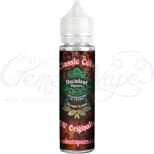 Classic Cola - by Decadent Vapours - 50ml shortfill