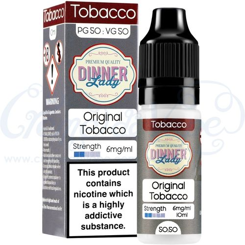 Original Tobacco by Dinner Lady - 10ml