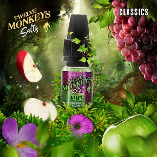 Matata Nic Salt by Twelve Monkeys - 10ml