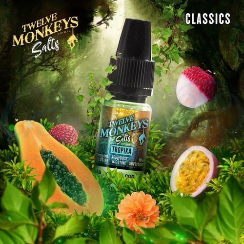 Tropika Nic Salt by Twelve Monkeys - 10ml