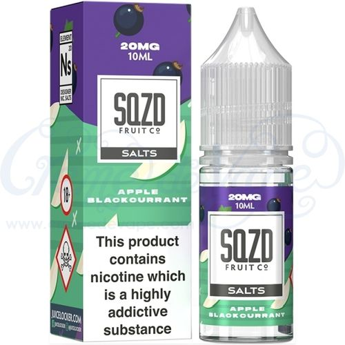 Apple Blackcurrant Nic Salt by SQZD - 10ml