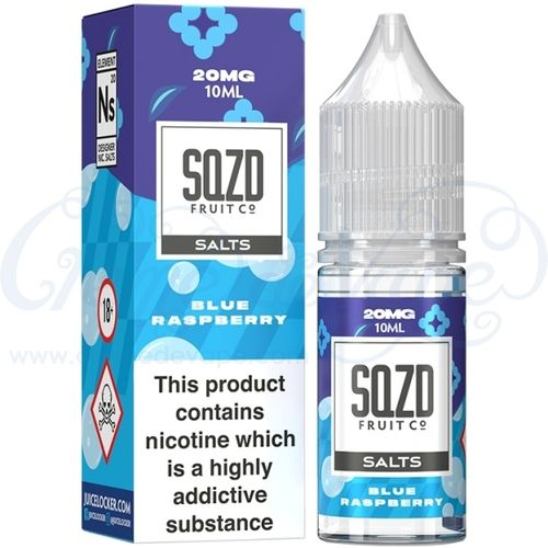 Blue Raspberry Nic Salt by SQZD - 10ml