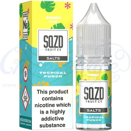 Tropical Punch Nic Salt by SQZD - 10ml