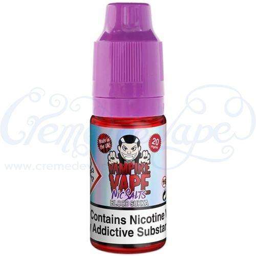 Blood Sukka Nic Salt by Vampire Vape - 10ml