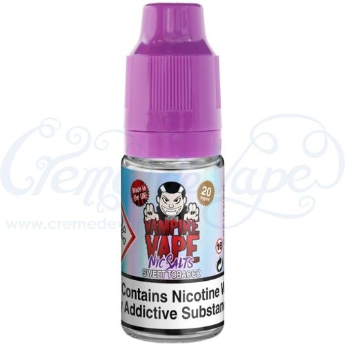 Sweet Tobacco Nic Salt by Vampire Vape - 10ml