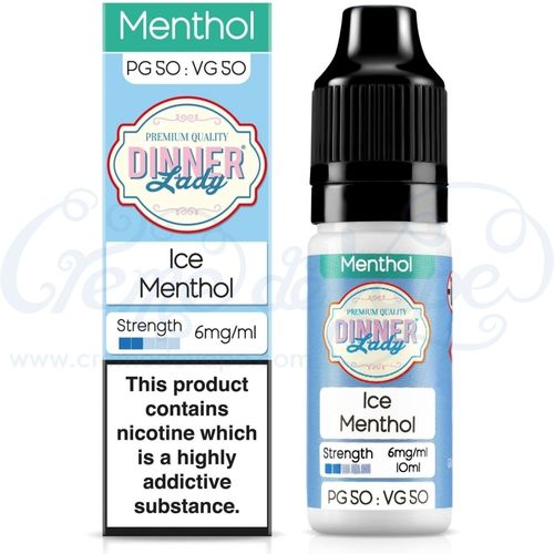 Ice Menthol by Dinner Lady - 10ml