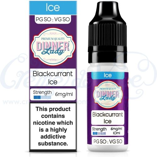 Blackcurrant Ice by Dinner Lady - 10ml