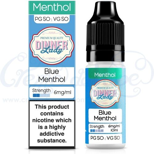 Blue Menthol  by Dinner Lady - 10ml