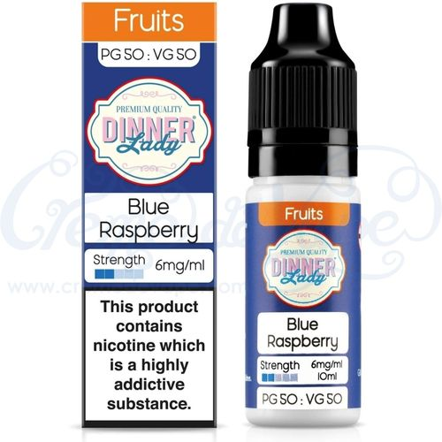 Blue Raspberry  by Dinner Lady - 10ml