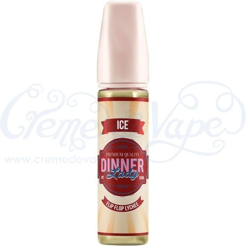 Flip Flop Lychee by Dinner Lady - 50ml shortfill